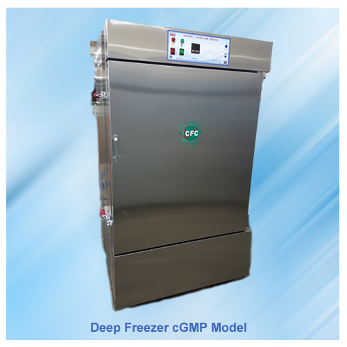 Deep-Freezer-cGMP-Model